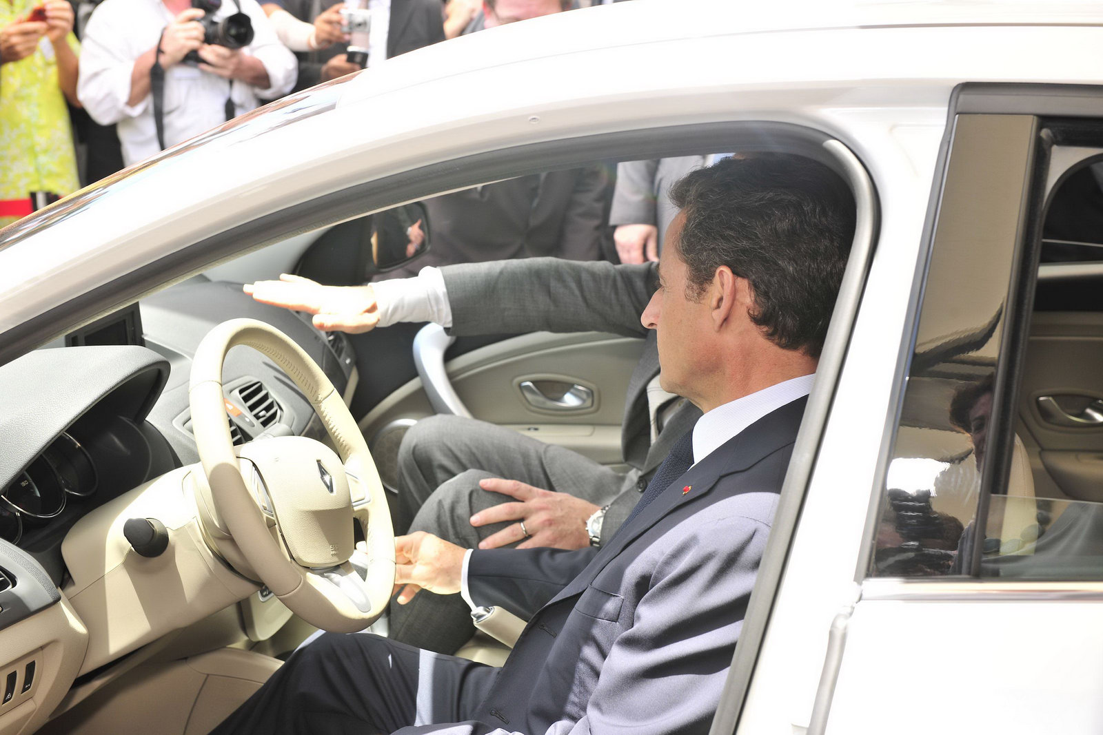 Nicolas Sarkozy and the Renault espionage