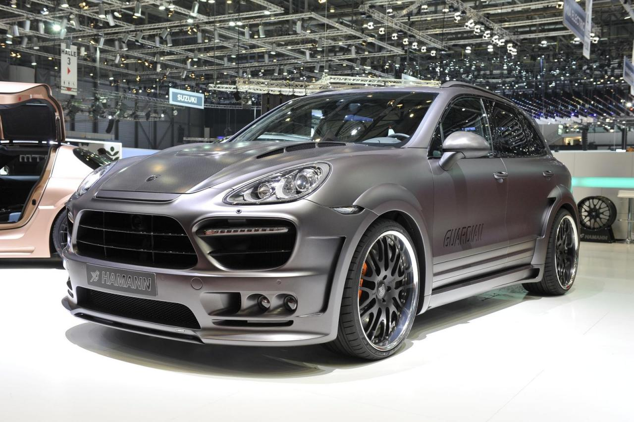 Porsche Cayenne Guardian by Hamann