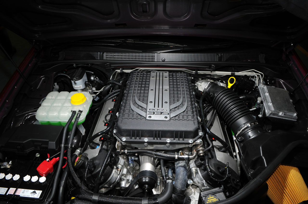 FPV Falcon GT V8 engine