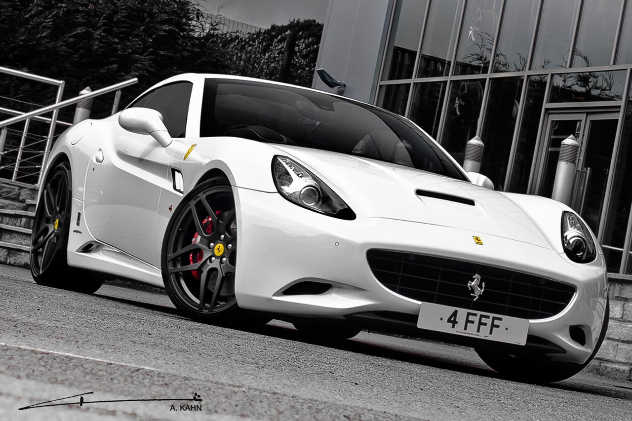 Project Kahn Ferrari California Monza Edition