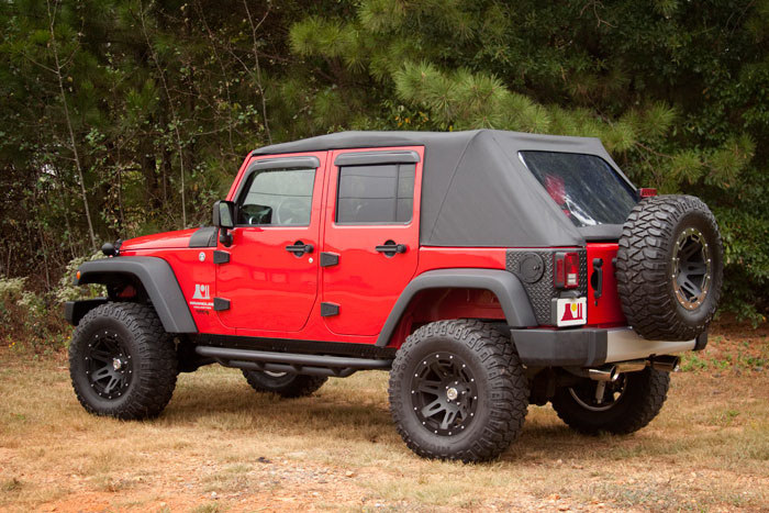 Jeep Wrangler power roof 