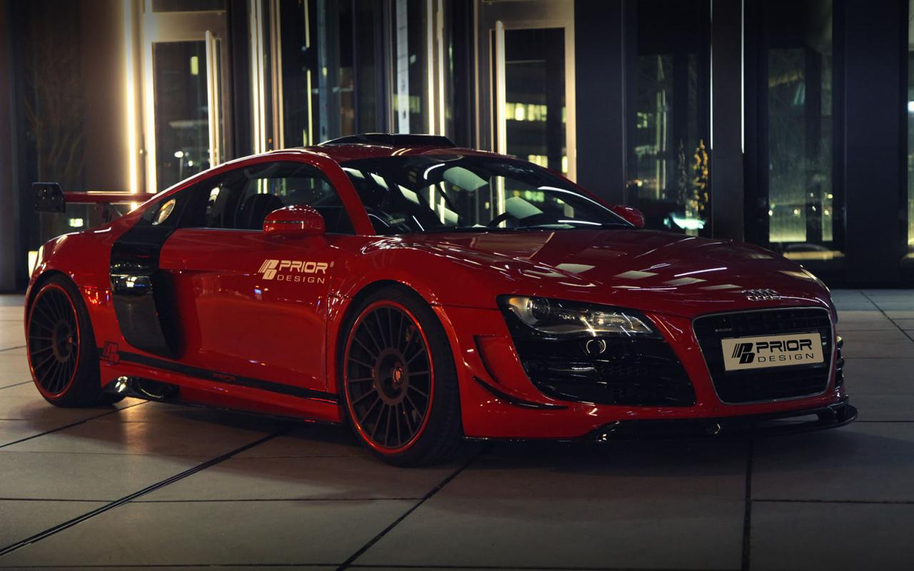 Audi R8 PD GT650 by Prior Design