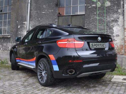 BMW X6 tuned by Sportec