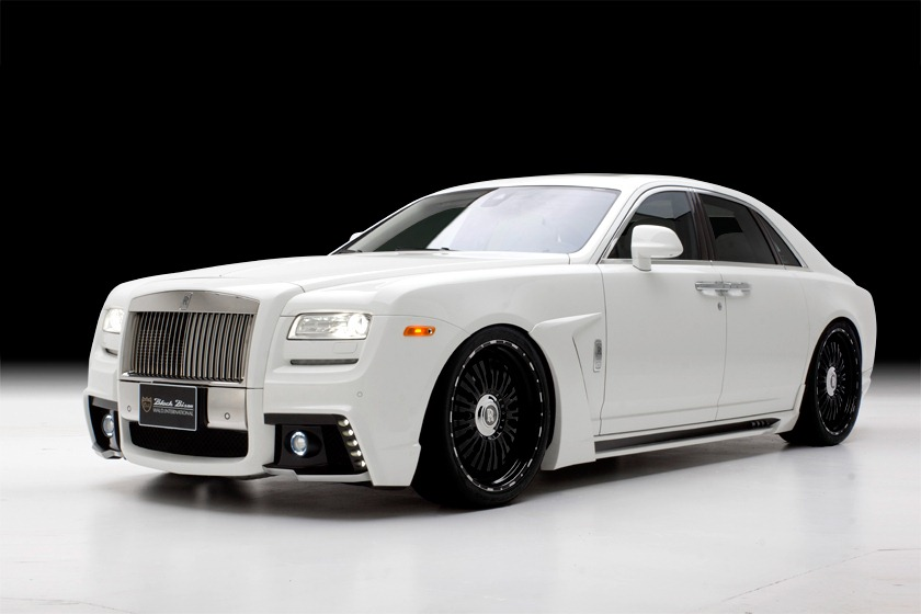 Rolls Royce Ghost Black Bison