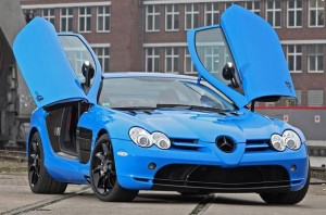 CUT48 Mercedes SLR