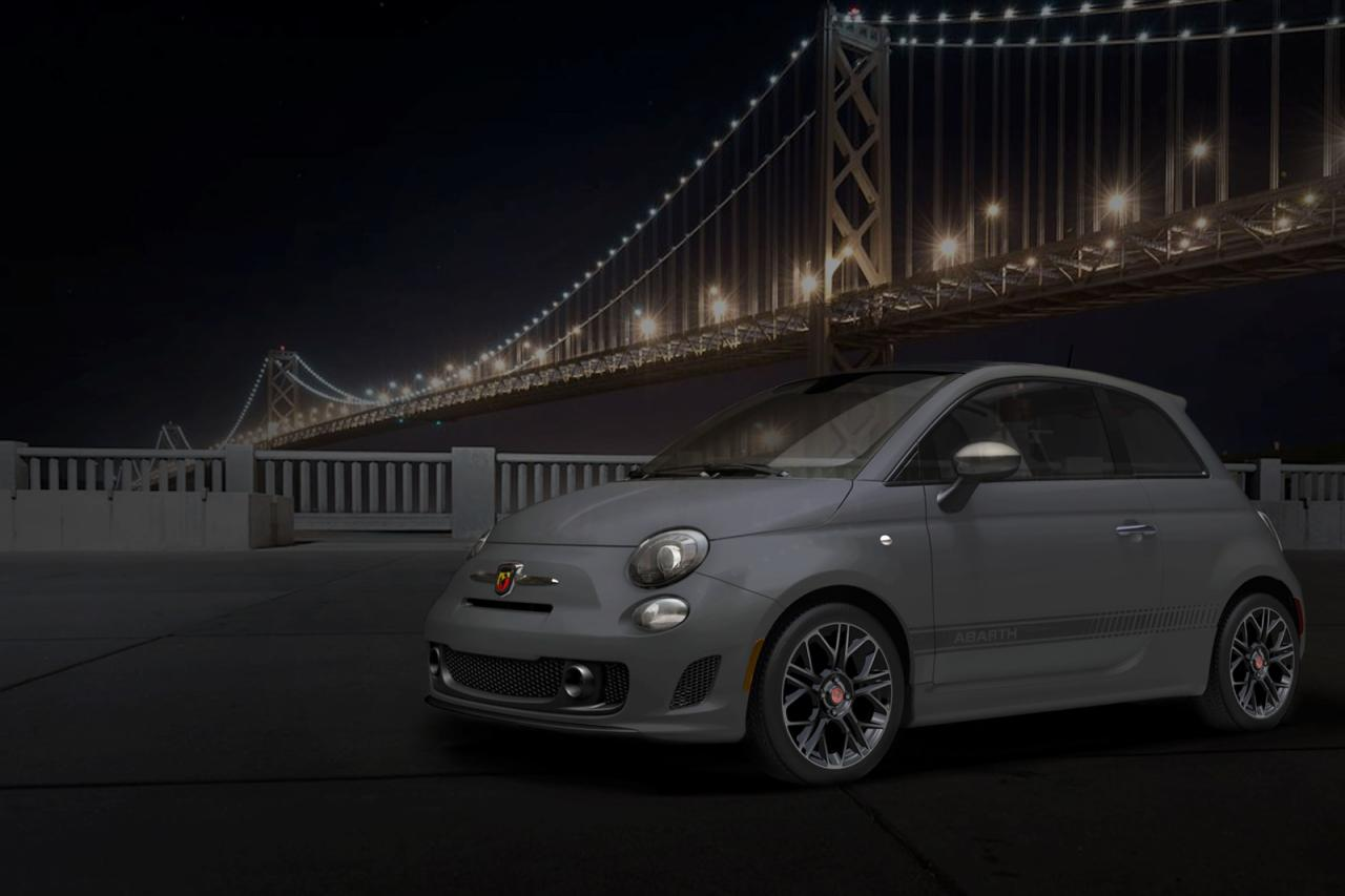 Fiat 500 Abarth Tenebra concept