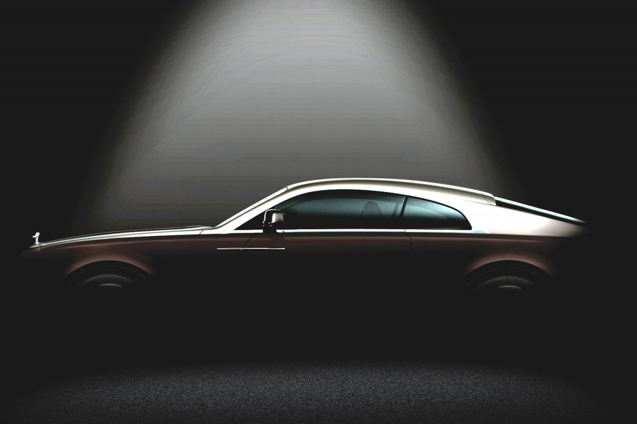 Rolls Royce Wraith teaser