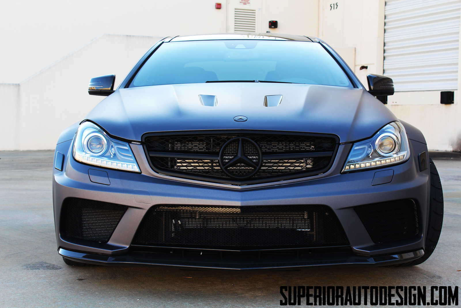 Superior Automotive Design Mercedes C63 AMG Black