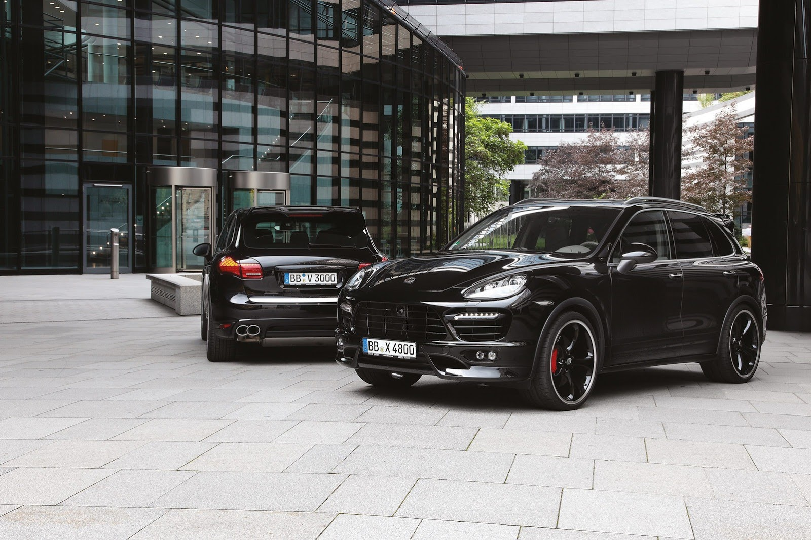 Porsche Cayenne S by TechArt