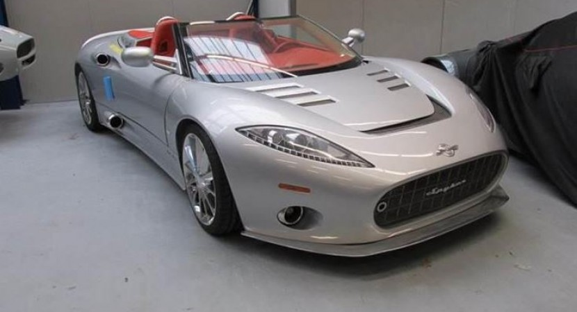 Spyker assets auctioned off