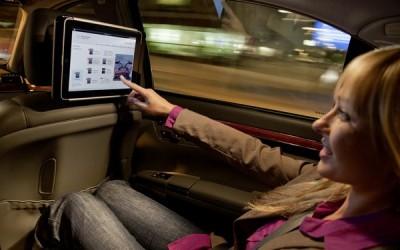 Mercedes-Benz iPad dock