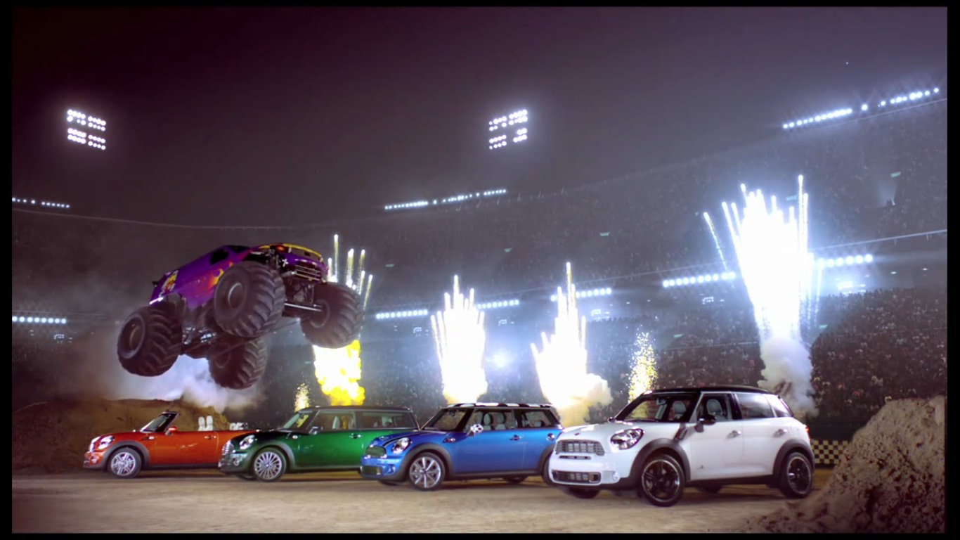 MINI vs. Monster commercial