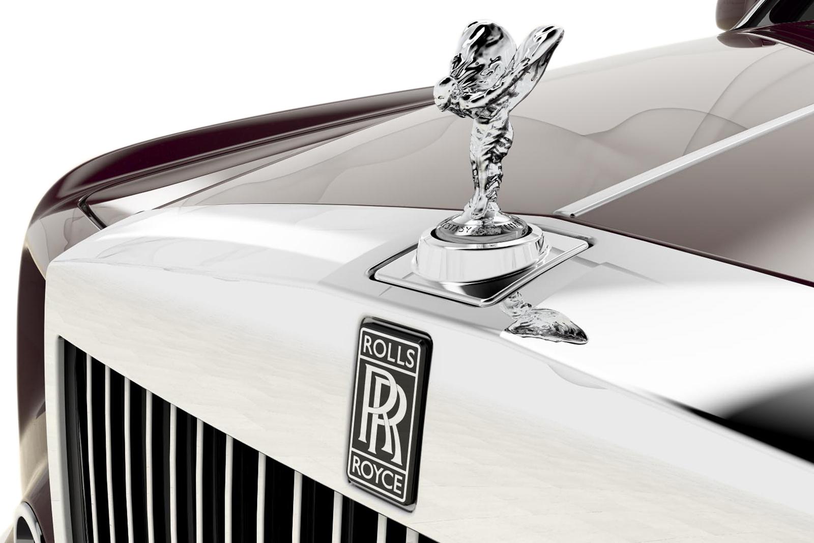Rolls Royce front end