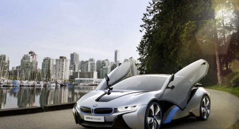2014 BMW i8 concept