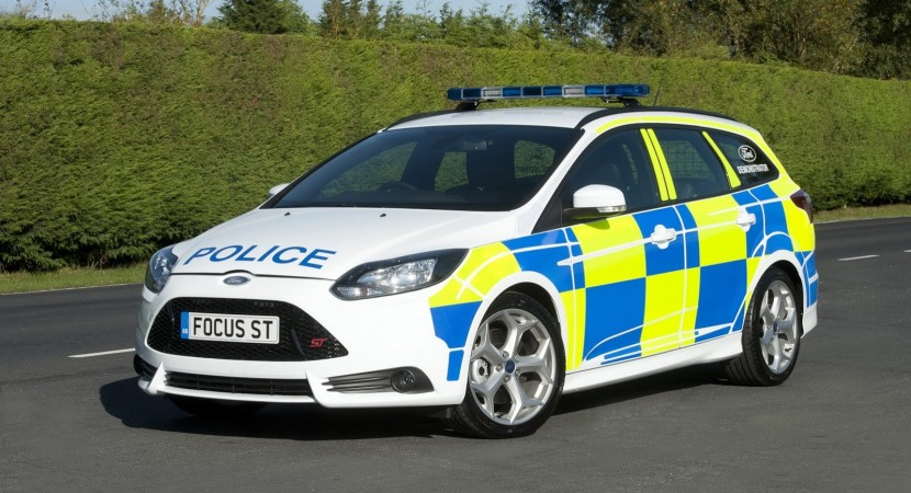 Ford Focus ST Wagon police car