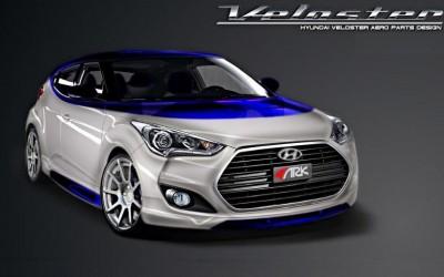 Hyundai Veloster Alpine Concept