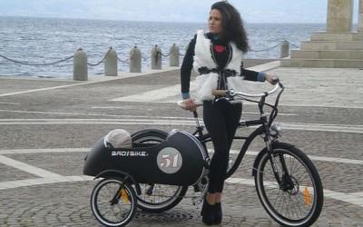 Beach Vintage Side Electric Bicycle