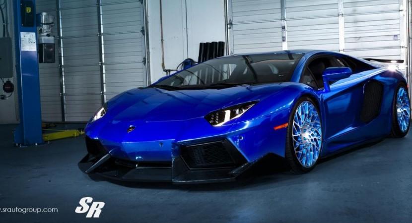Lamborghini Aventador by SR Auto