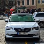 2016 Skoda Superb Caught in Prague