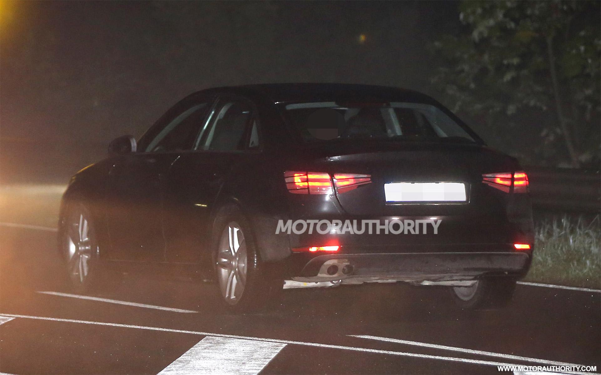2016 Audi A4 Spy Shot
