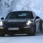 2016 Porsche 911 Carrera Spy Shot