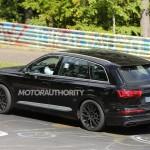 2017 Audi SQ7 Spy Shot