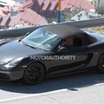 2017 Porsche Boxster Spy Shot